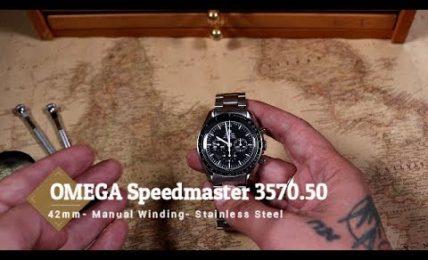 אומגה ספידמאסטר מון ווטש דגם 3570.50 – סקירת וידאו של מערכת ווטש גורו – מאת שי חי