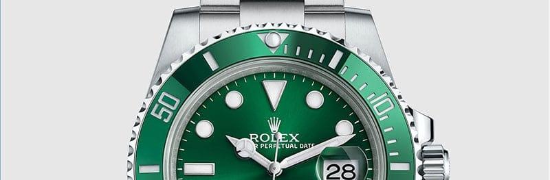 שעון רולקס סאבמרינר דייט דגם 116610LV