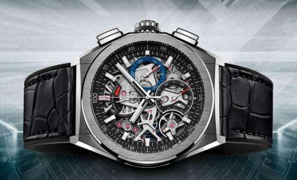 רצועת שעון עור חלק לשעון ZENITH DEFY EL PRIMERO 21
