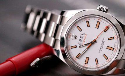 רולקס מילגאוס 116400 לוח לבן [סקירת דגם – שי חי 2018] Rolex Milgauss 116400 ווטש גורו