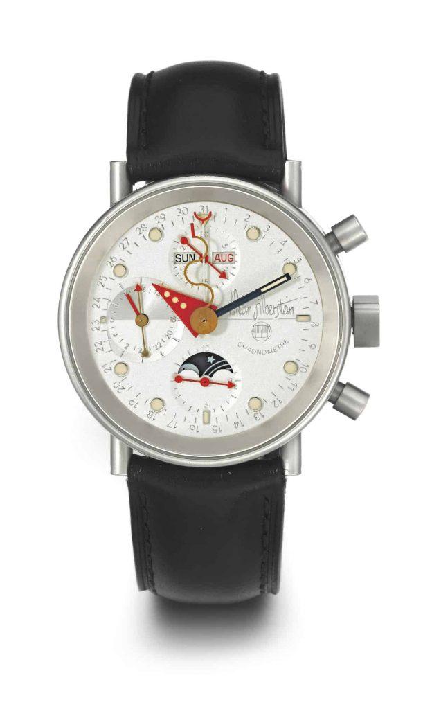שעון Alain Silberstein Triple Calendar Chronograph