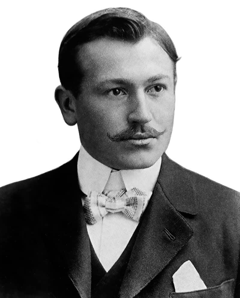 מייסד רולקס, הנס ווילסדורף. מקור - ויקיפדיה.