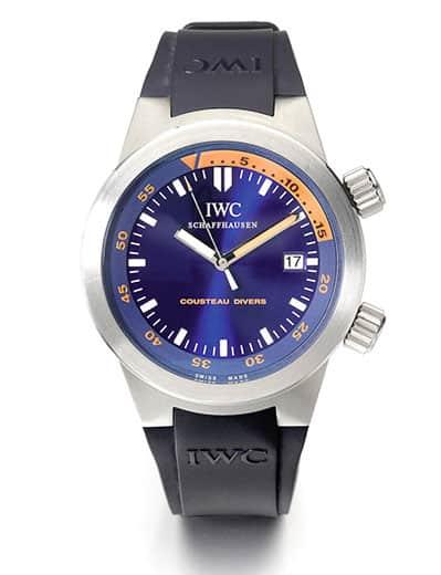 שעון IWC Aquatimer 2004 Jacques Cousteau