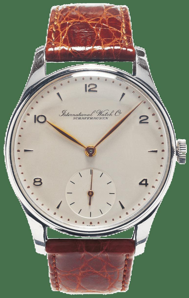 IWC German edition - השעון עוטר בעיצוב מעט שונה מהפורטוגז הרגילים