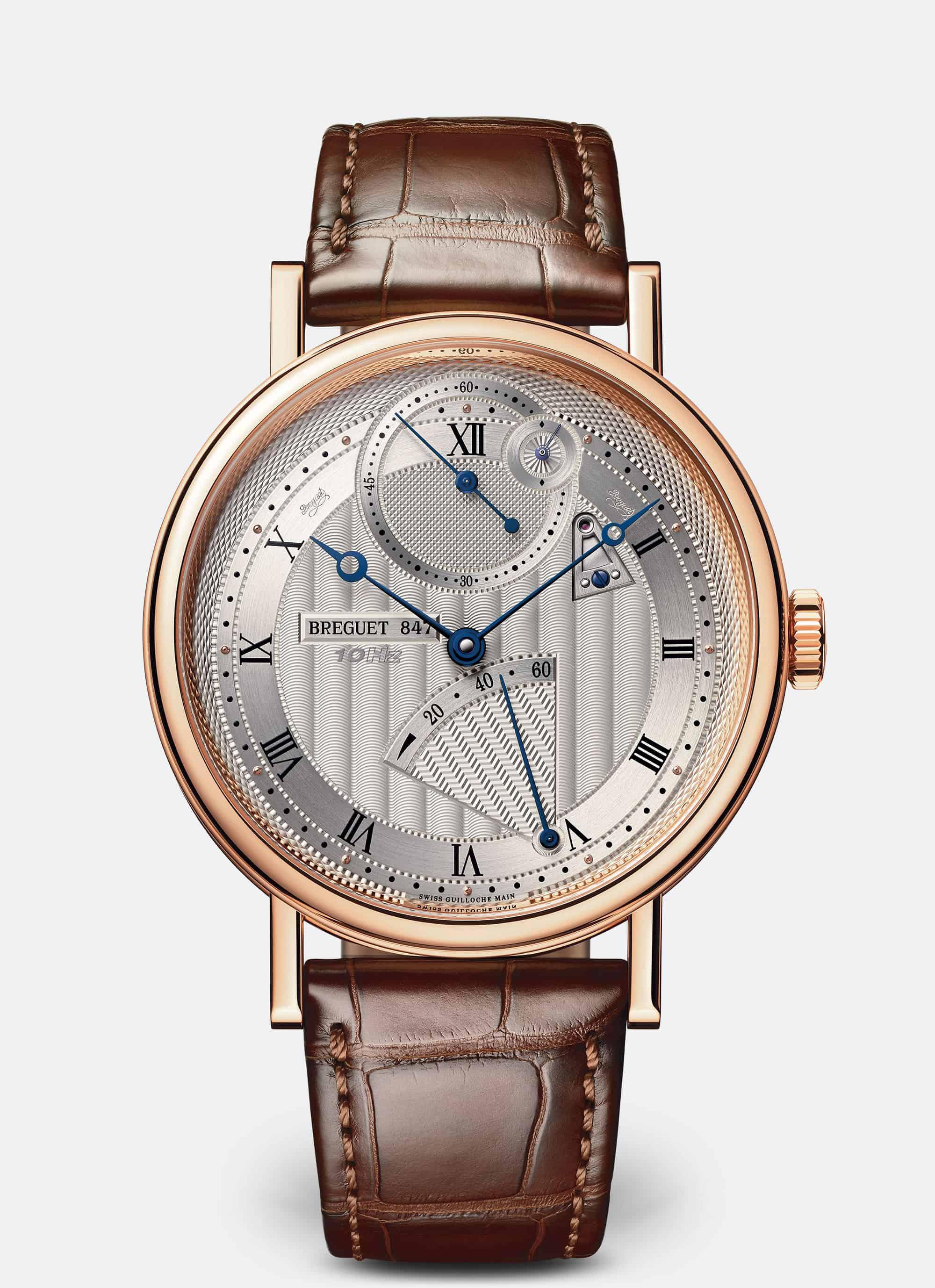 הבריגה 7727 - השעון המהיר ביותר בעולם, נכון להיום, בתדר של 72,000 פעימות בשעה