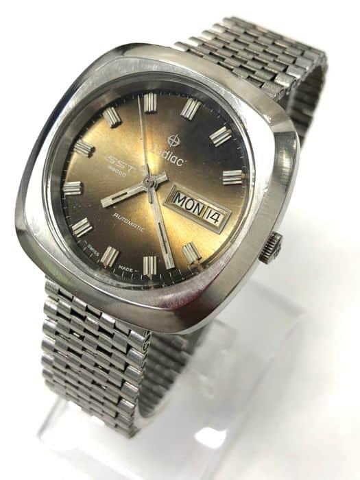 זודיאק SST 36000 - שעון וינטג' היי-ביט אוטומטי בתדר של 36,000 פעימות בשעה