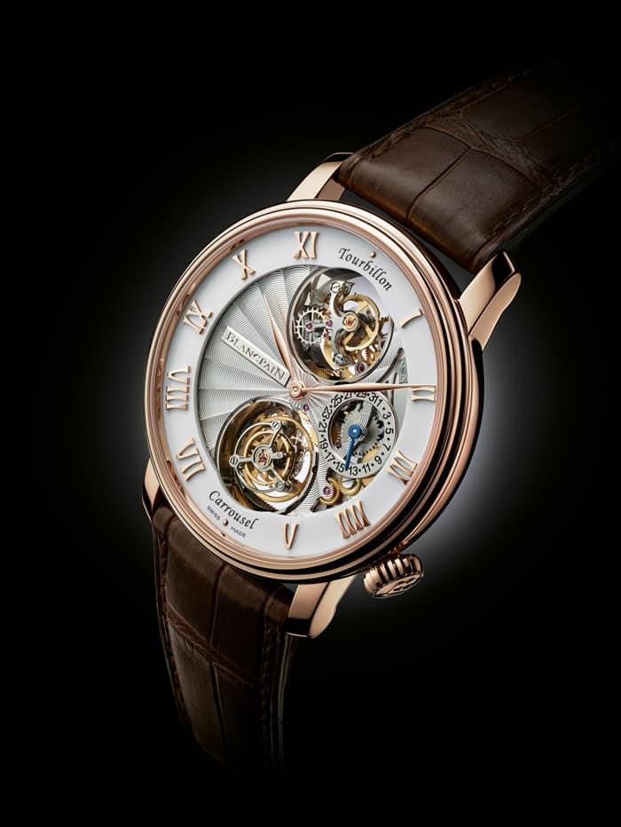 שעון בלאנקפיין טורבילון קרוסלה