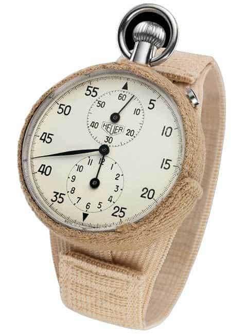 שעון ההויר 2915A - השעון השוויצרי הראשון בחלל. מקור - טאג הויר.