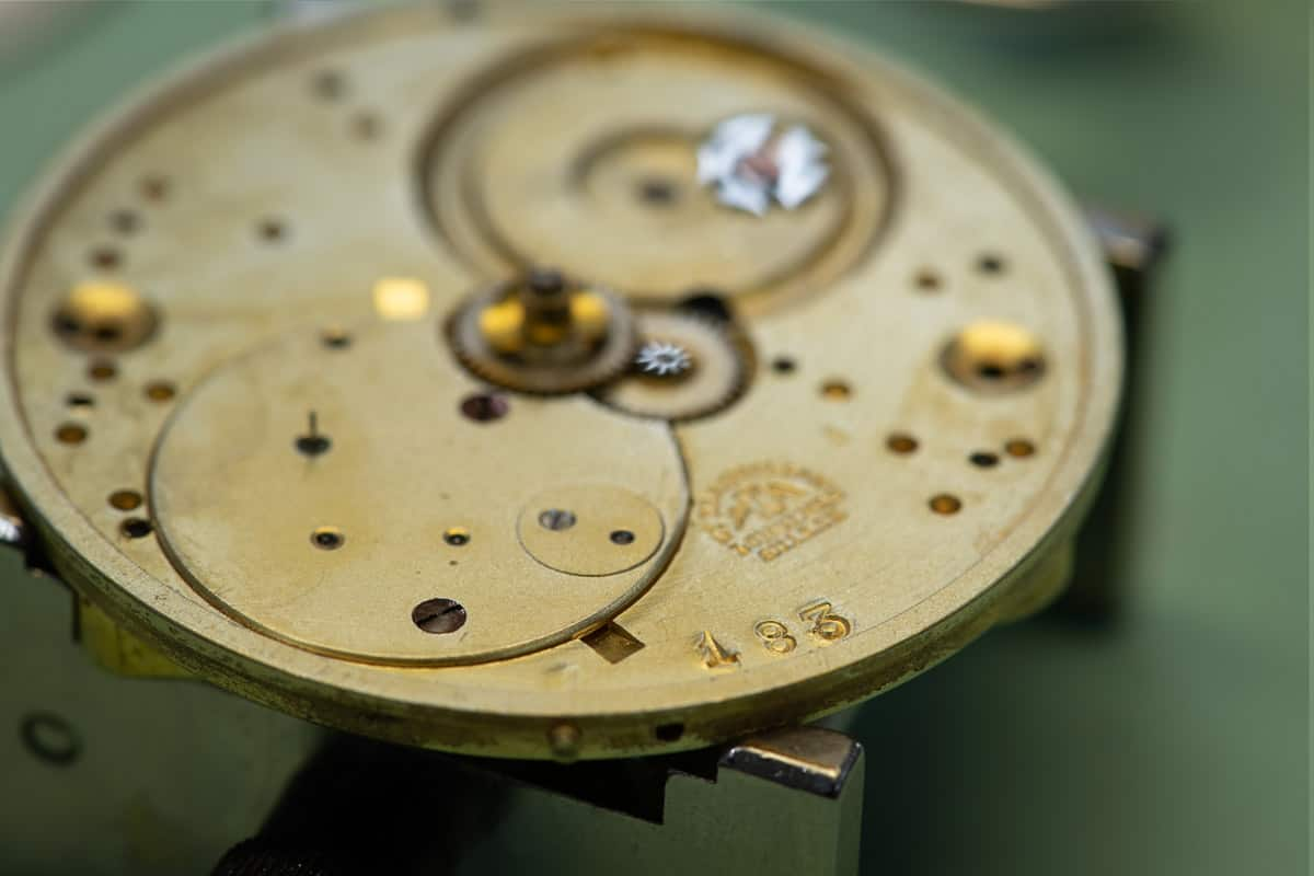 לונג'ין 183 - השעון העתיק ביותר אי פעם של החברה שנמצא. מקור - לונג'ין.