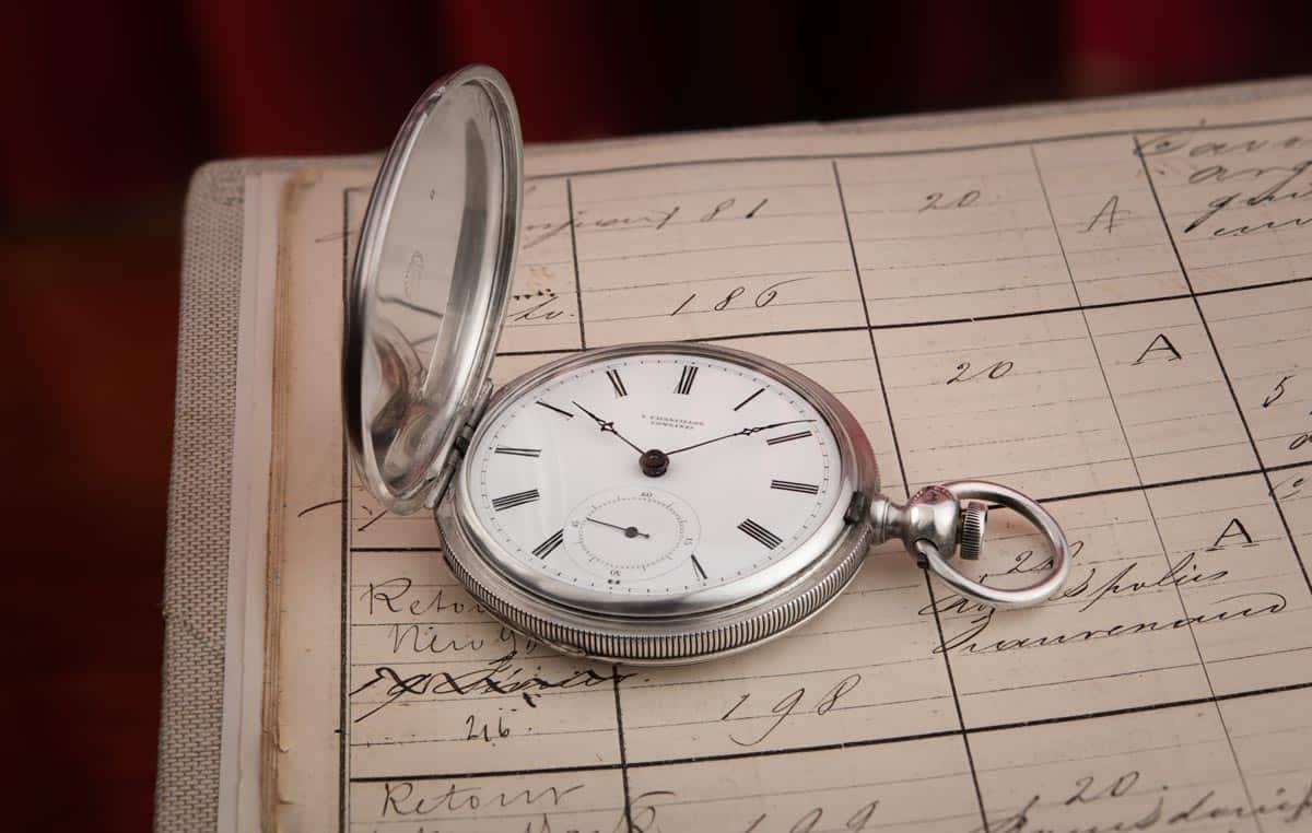 לונג'ין 183 - השעון העתיק ביותר אי פעם של החברה שנמצא