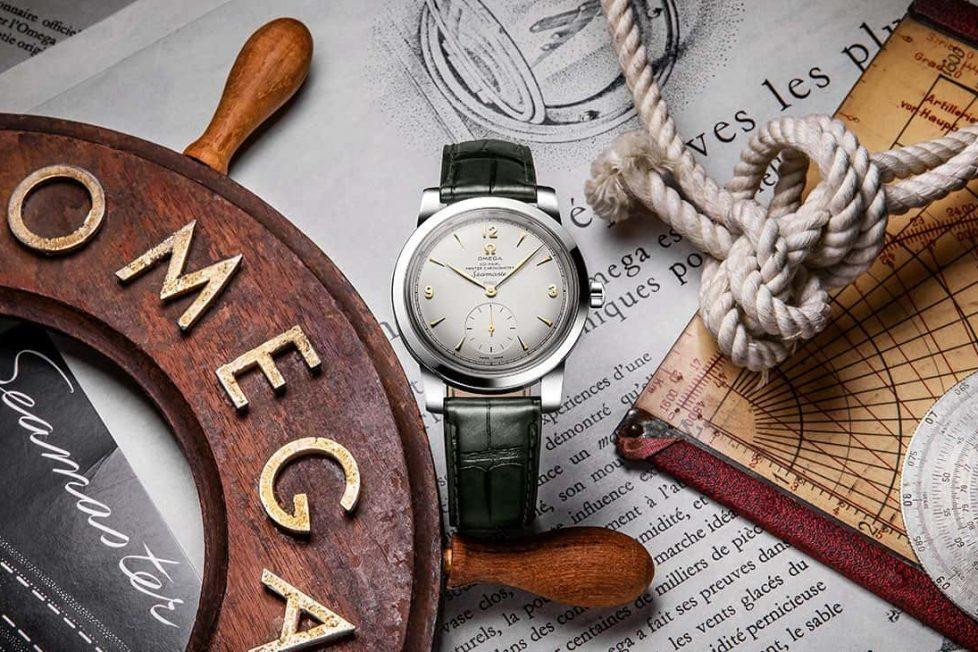 אומגה סימאסטר מהדורה מוגבלת ל-70 שנה גוף פלטינה. מקור - אומגה.