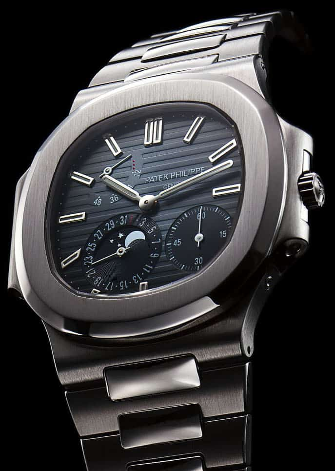 פטק פיליפ נאוטילוס רפרנס 3712, כנראה הנאוטילוס הנדיר ביותר בייצור סדרתי (מקור: Monochrome Watches)