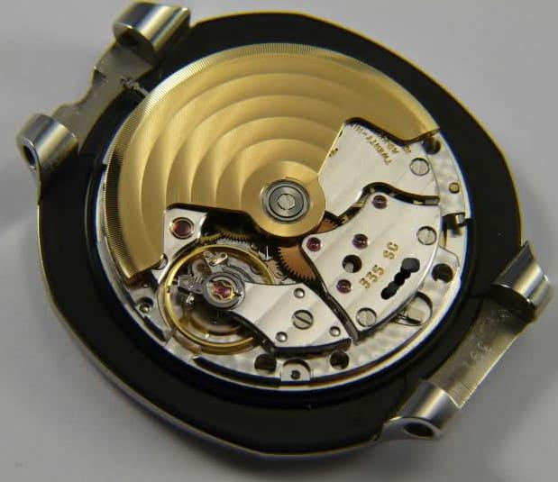 קליבר 335sc, המנגנון שהניע את הנאוטילוס 3800