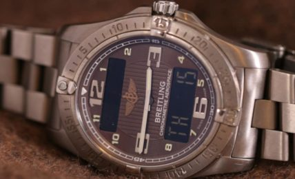 ברייטלינג דגם אירוספייס קוורץ breitling תמונת שעון
