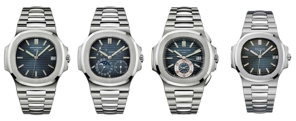 ליין הנאוטילוס של פטק פיליפ לשנת 2006 (מקור: Monochrome watches)