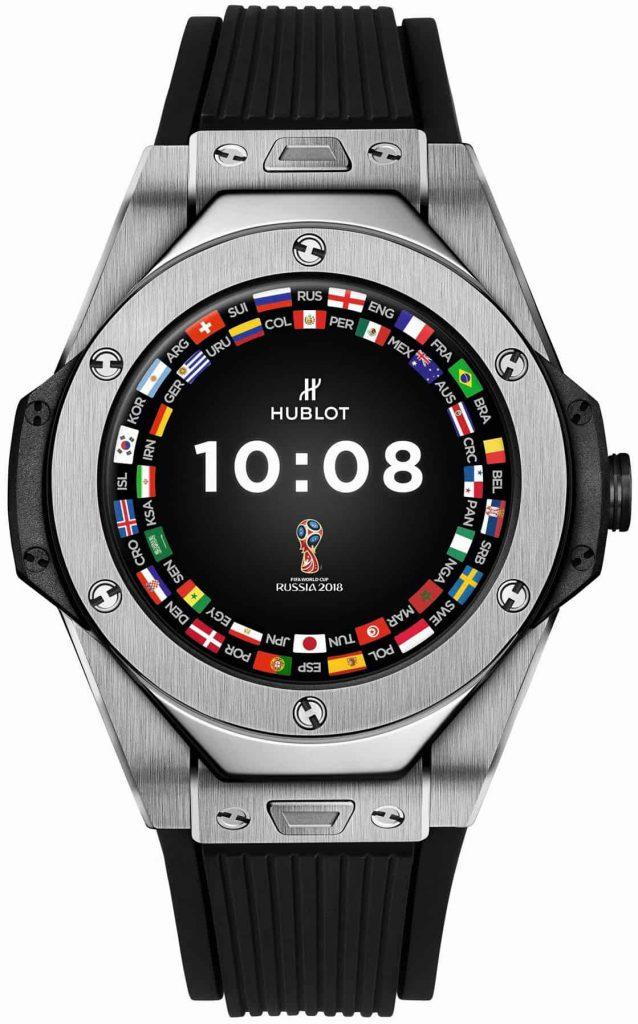 הובלו ביג באנג Referee, שעון חכם מבית יצרן שוויצרי וותיק