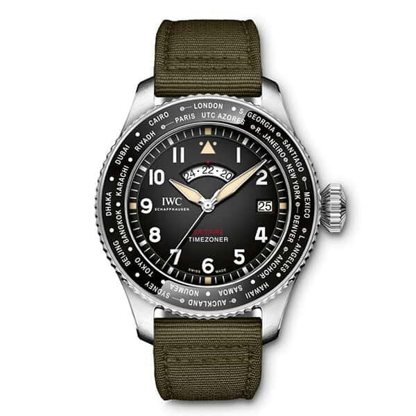 שעון IWC SPITFIRE TIMEZONER