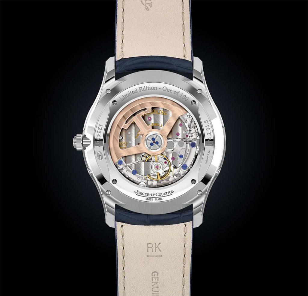 שעון Jaeger-LeCoultre Master Ultra Thin Moon Enamel תמונה מפורטת