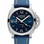 שעון PAM 986 - פנריי לומינור 1950 10 ימים GMT אוטומטי ACCIAIO מהדורה מוגבלת
