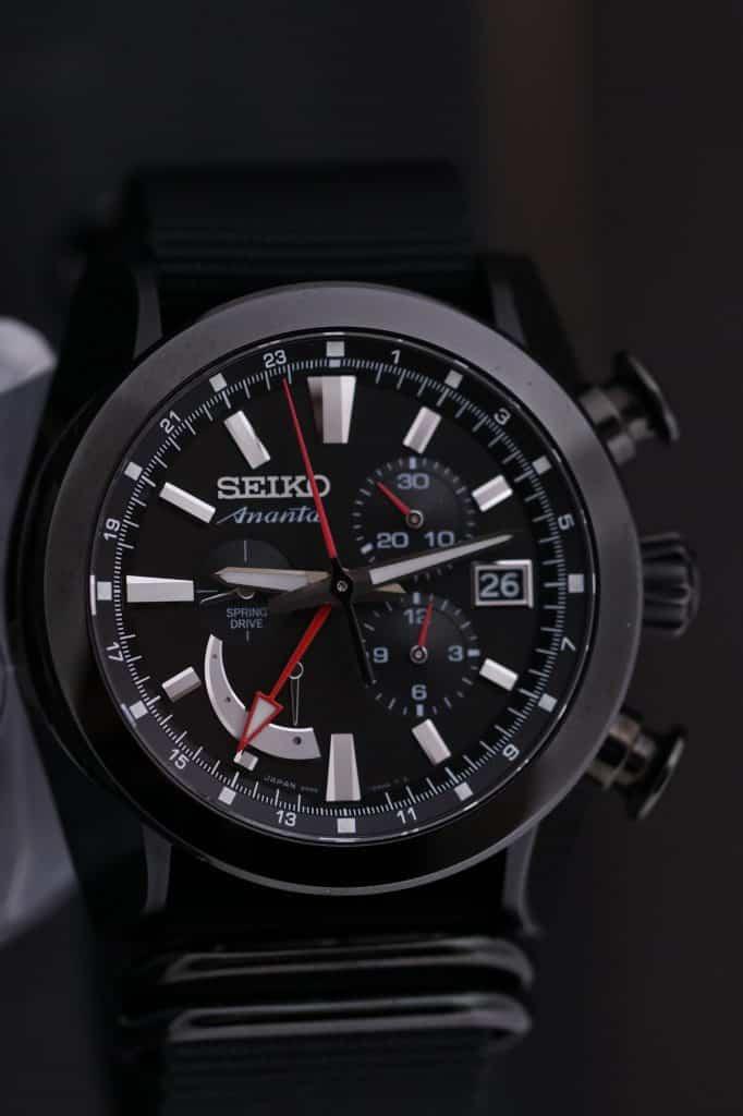 Seiko ananta spring drive chronograph SPS009J1