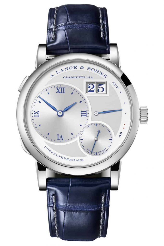 A. Lange sohne 1 25th anniversary edition front