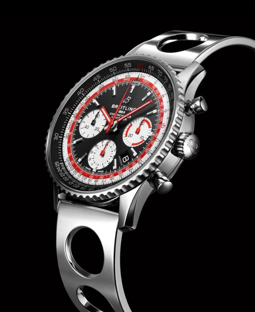 צמיד Ocean Racer לשעון הברייטלינג נוויטיימר 1 B01 כרונוגרף 43 סוויסאייר