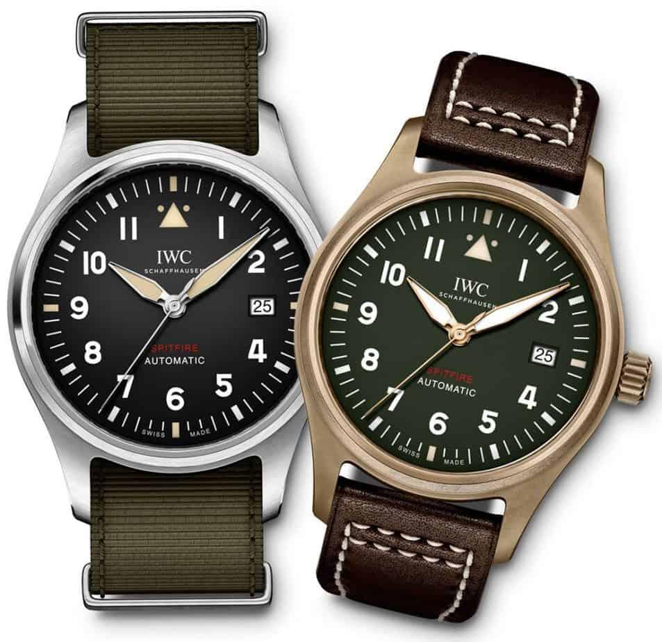 סדרת ה-Spitfire החדשה של IWC. מקור - IWC.