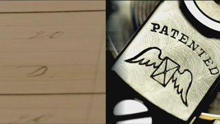 אחת הגרסאות הראשונות של הלוגו של לונג'ין. מקור - לונג'ין.