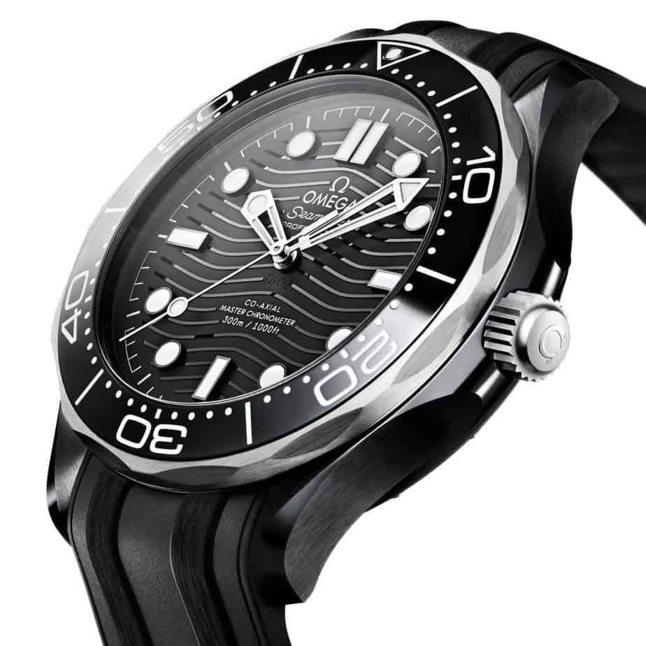 Omega Seamaster 300 ceramic titanium side