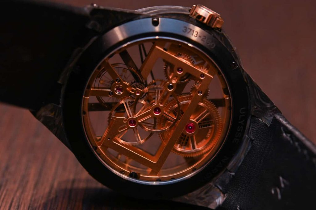 Ulysse nardin exacutive Skeleton X rear