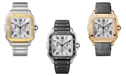 cartier santos chronograp XL