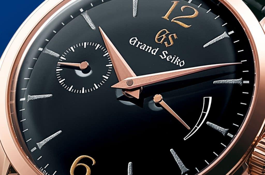 לוח ה-Urushi של סדרת האלגנס 2019 של שעוני גרנד סייקו. מקור - ABLOGTOWATCH.