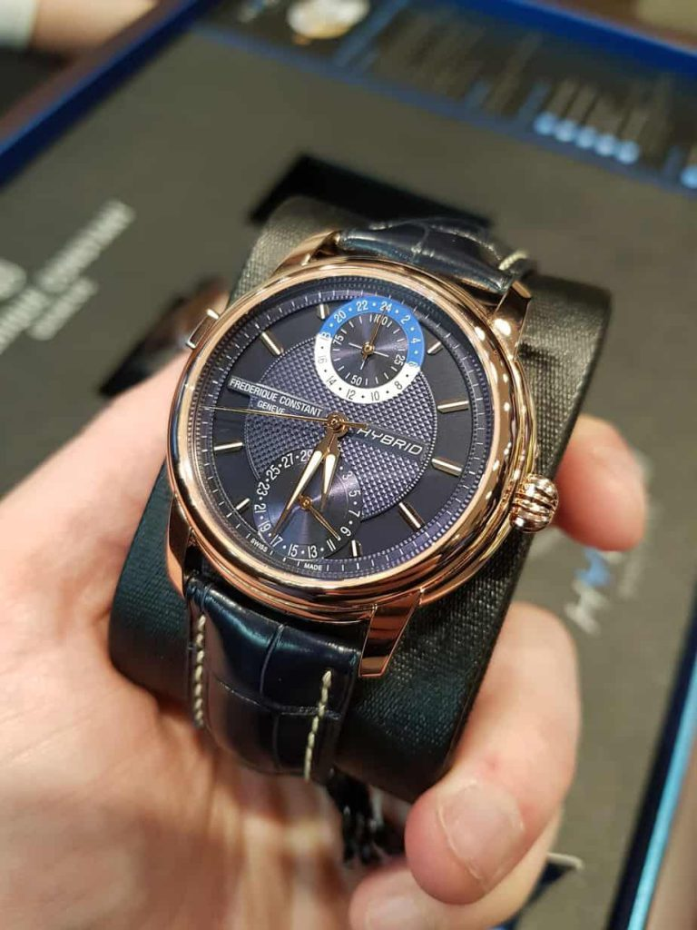 Frederique constant hybrid watch