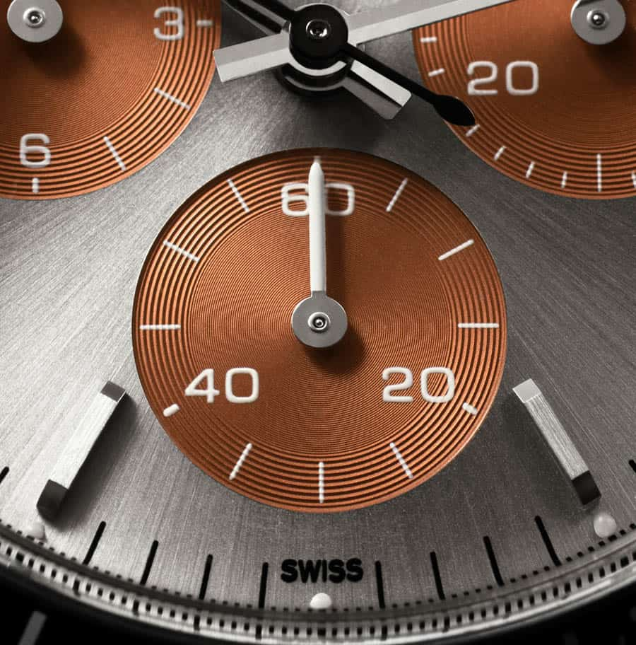 לוח שעון ה-Tribute To 6240 Tropical של Artisans De Geneve.