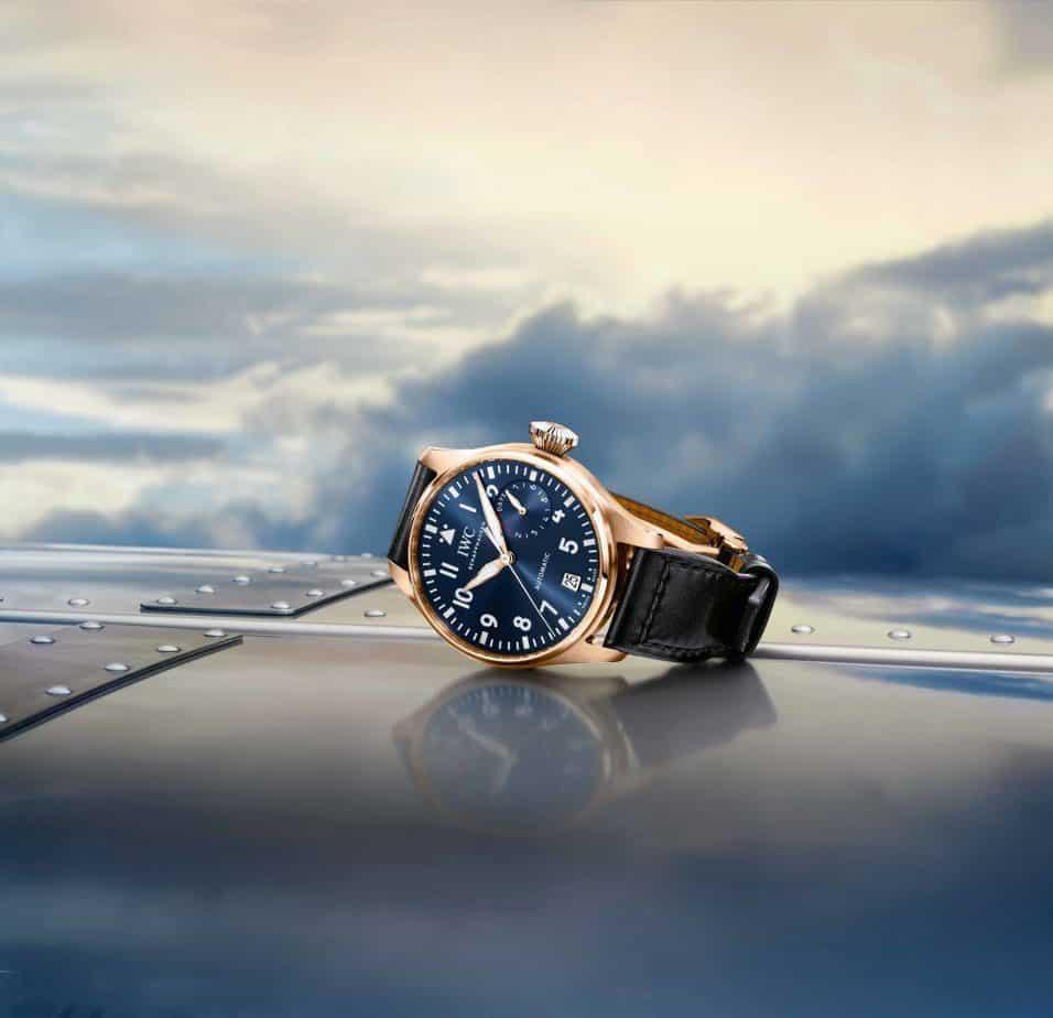 שעון ה-IWC ביג פיילוט הייחודי של בראדלי קופר מטקס האוסקר. מקור - IWC.