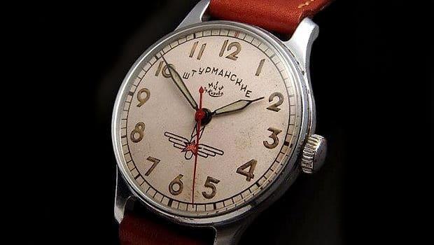 שעון ה-Poljot Sturmanskie. מקור - Montredo.