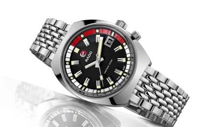 שעון הראדו Captain Cook MKII החדש. מקור - TimeandWatches.
