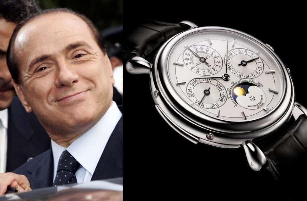 שעון הוושרון קונסטנטין של סילביו ברלוסקוני. מקור - placetaken.