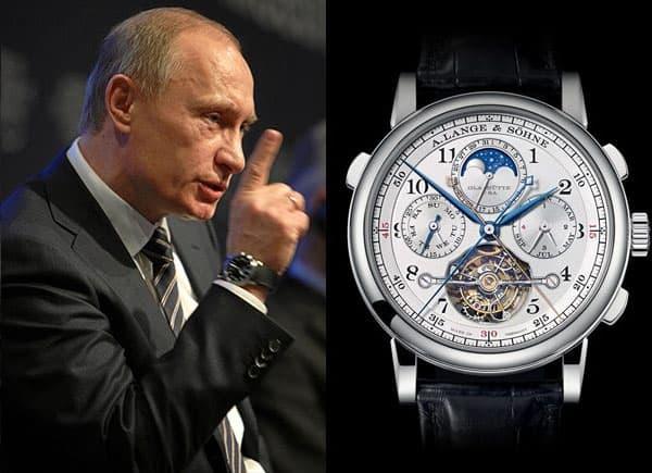 שעון הטורבוגרף של פוטין. מקור - ORACLEOFTIME.