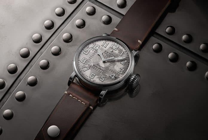 שעון הזניט פיילוט Type 20 Extra Special מכסף 925. מקור - זניט.