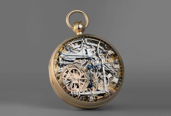 שעון הברגה 160 של מארי אנטואנט. מקור - ברגה.