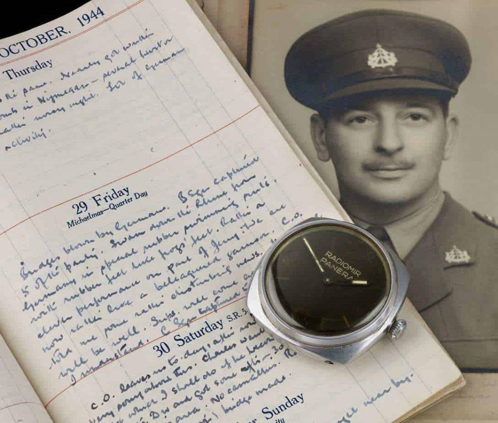שעון פנריי של צוללן נאצי ממלחמת העולם השניה. מקור - WatchPro.