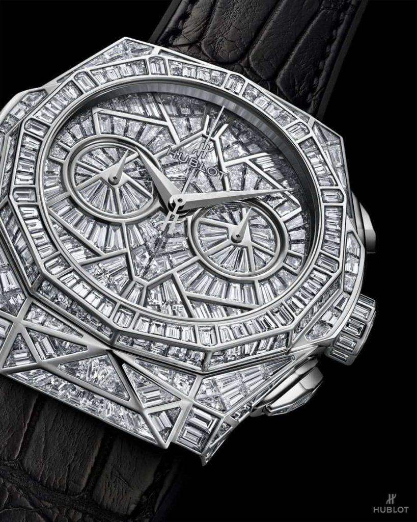 hublot classic fusion orlinski hig jewlery 45mm