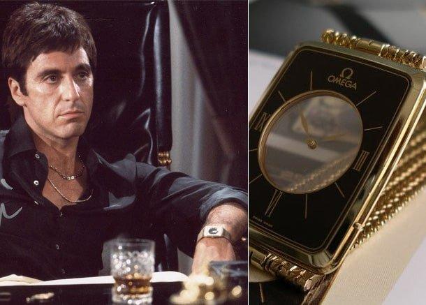 שעון האומגה לה מג'יק של אל פצ'ינו. מקור - Montrex Collection.