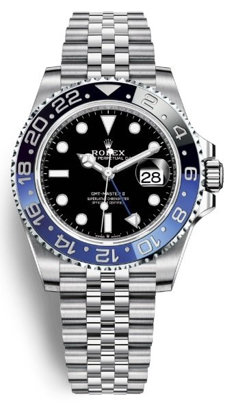 rolex gmt master batman 2019
