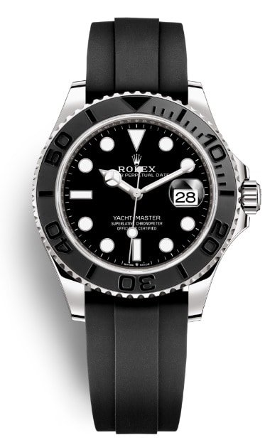 rolex yachtmaster 42 white gold