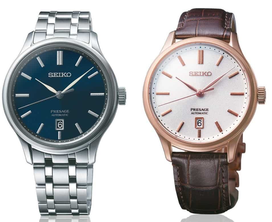 seiko presage 2019 rose gold and steel