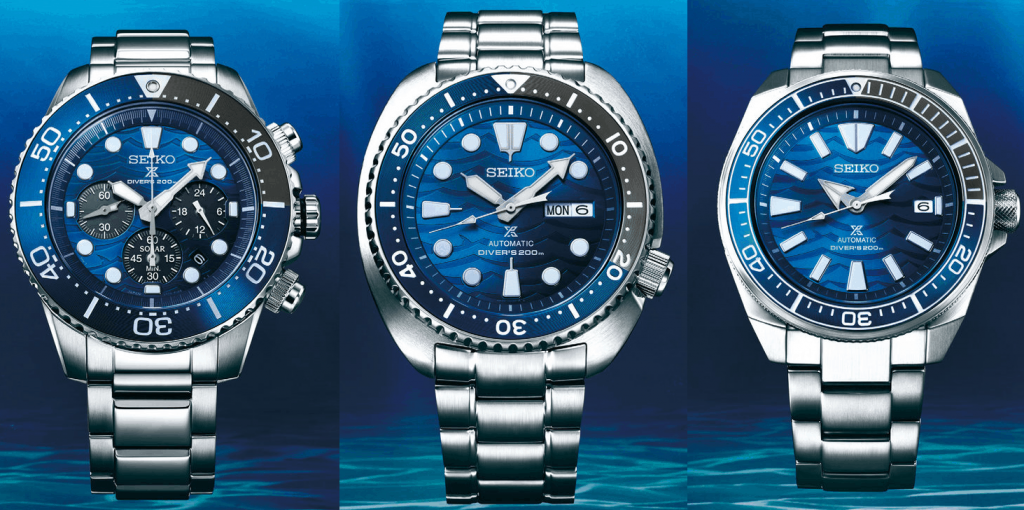 seiko prospex save the ocean great white shark
