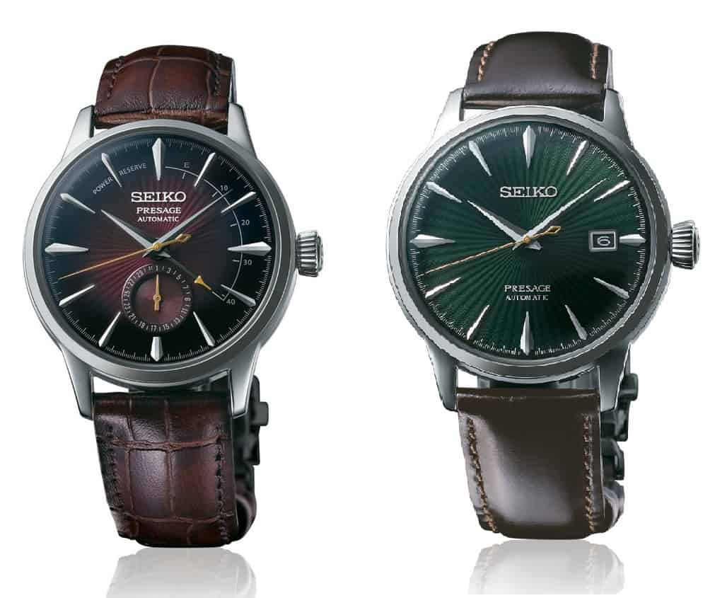 seiko regular presage cocktail time
