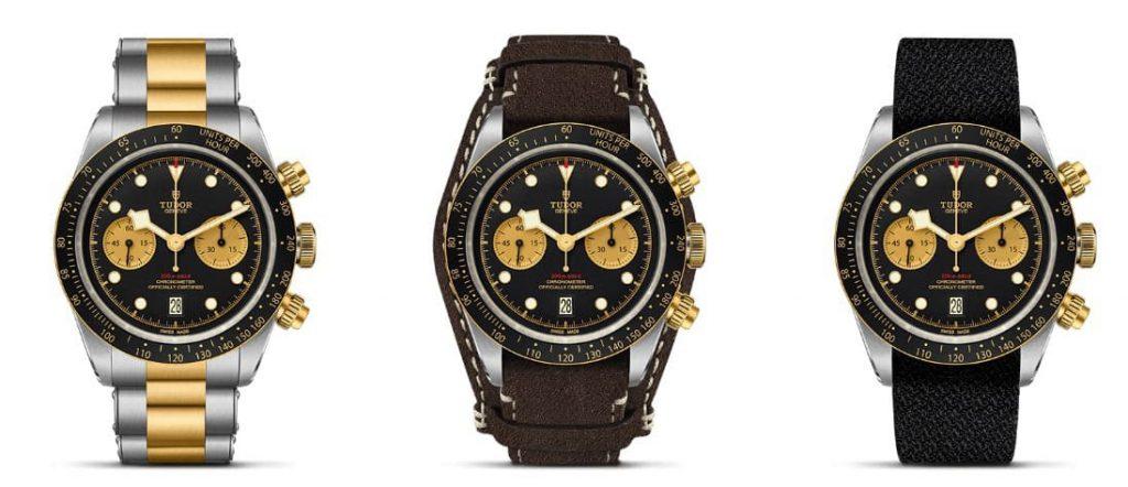 tudor black bay chronograph S&G 2019